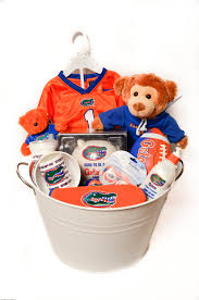 sports gift baskets florida gator s baby sports gift basket kr innovations