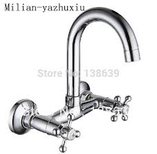 aliexpress com buy wholesale wall mounted kitchen faucet and