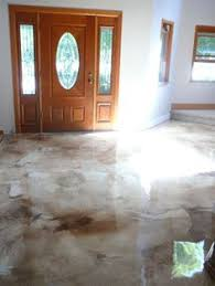 Concrete Kitchen Floor by This Could Be The Solution To My Ratty Laundry Room Floor Goodbye