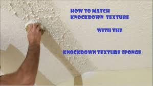 knockdown texture sponge drywall repair tool