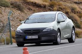 opel astra hatchback 2014 spy shots opel working on a subtle facelift for astra gtc