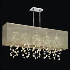 Faux Crystal Chandeliers Faux Pearl Beaded Chandelier Shop Glow Lighting