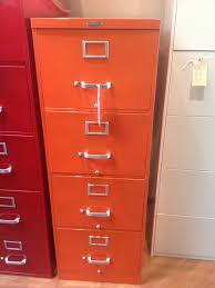 Orange Filing Cabinet Antique Filing Cabinet File Cabinet Mini Filing Cabinet