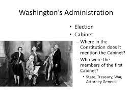 who was in washington s cabinet the new republic the presidencies of george washington john adams