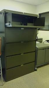 Lateral Filing Cabinets For Sale Used Steelcase 900 5 Drawer 36in Wide Lateral File Cabinets