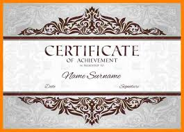 Participation Certificate Templates Free Download 4 Certificate Of Completion Templates Free Download Fancy Resume