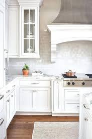 subway tile kitchen backsplash light gray backsplash kitchen kitchen black white cabinets light