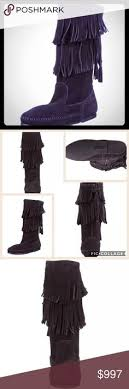 womens size 12 fringe boots lamo footwear s sporty ankle boot chocolate suede lamo