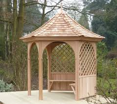 six sided gazebo stan fairbrother garden structures