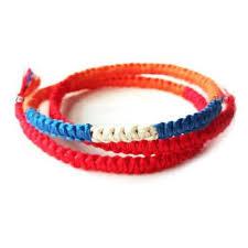 red rope bracelet images Movie your name harajuku wrap bracelets japan anime braided red jpg
