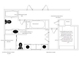 bathroom floor plan layout custom master bathroom inspiration floor plans d traintoball