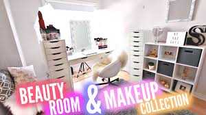 my beauty room tour makeup collection 2016