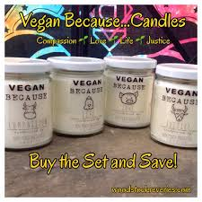 soy much brighter jar candle u2013 vegan because u2026compassion with cow
