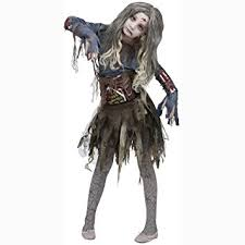Dead Prom Queen Halloween Costume Amazon Zombie Girls Halloween Costume Medium 8 10 Toys