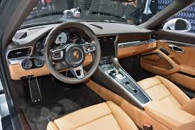 porsche 911 inside 2017 porsche 911 release date facelift interior images review