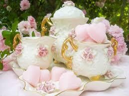 roses tea set www crystalsrosecottagechic website design by