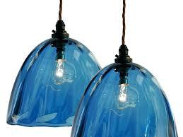 green glass pendant lights blue glass pendant lights blue green glass pendant lighting