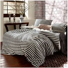 Best Bedding Sets Best Chic Classic Black And White Striped Bedding Sets