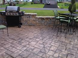 Tiling A Concrete Patio by Stamped Concrete Patio Installation Do U0027s And Don U0027ts Traba Homes