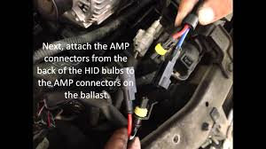 h4 high low hid kit installation youtube