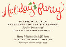 holiday party invitations holiday party invitations completed with