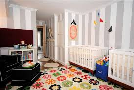 chambre de bébé jumeaux chambre deco idée déco chambre bébé jumeaux mixte