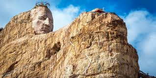 South Dakota travel partners images Bbc travel the family out sculpting mount rushmore jpg