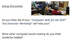 21 st century digital skills for the new ged test rhode island