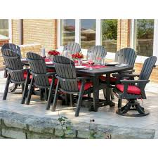 8 Seat Patio Dining Set - berlin gardens resin eight seat rectangular dining set