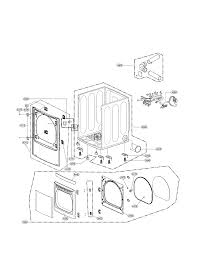 lg electric gas dryer parts model dley1201w sears partsdirect