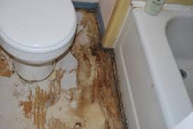 Rotten Bathroom Floor - diy bathroom makeover u2013 persephone magazine