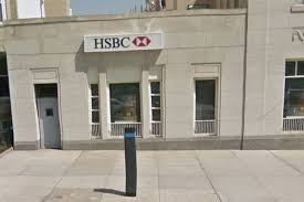 siege hsbc robbers drill above bank vault 280 000 and