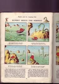 vintage rupert bear book monster rupert virtuallyantique
