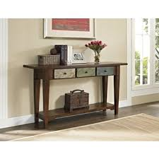 Overstock Sofa Table by Altra Hand Painted Sage Console Table And Drawers Overstock Com