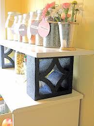 Concrete Block Bed Frame Decorations Cement Bbq Grill Cinder Block Bookshelf Cinder