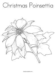 christmas poinsettia coloring twisty noodle