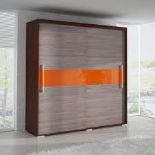 Wardrobe Doors Sliding Inspiring Contemporary Wardrobe Deco With Teak Wood Cupboard And