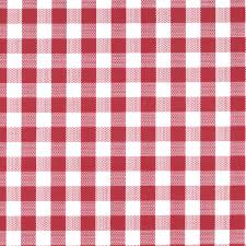 Fitted Picnic Tablecloth Tablecloth Vinyl Gingham Check Red Joann