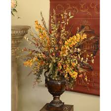 Flower Home Decor by Decorating Beautiful Silk Flower Arrangements For Your Table