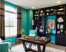 Turquoise Home Decor Ideas Turquoise Home Office Study Perfect For The Beach House House Of