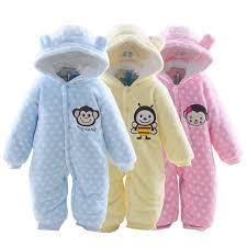 2015 autumn winter baby clothes baby rompers polar fleece baby