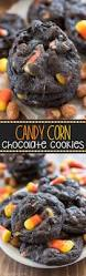 chocolate candy corn cookies crazy for crust