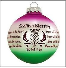 scottish blessing ornament