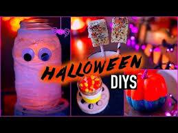 Halloween Diy Decorations by Diy Halloween Decorations Treats Youtube