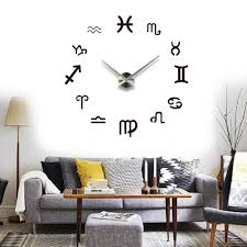 Diy Modern Home Decor by Online Get Cheap Zodiac Wall Clock Aliexpress Com Alibaba Group
