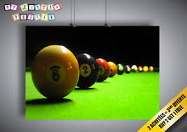 pool table wall art poster sport snooker pool table wall wall art ebay