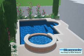 small pool designs small pool with spa my pins pinterest