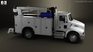 2006 kenworth truck 360 view of kenworth t300 heavy service truck 2006 3d model