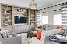 Family Room Built In Ideas Living Room Traditional With Vaulted - Family room built ins