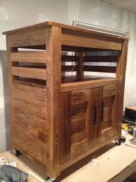 kitchen microwave cart carpentry diy chatroom home improvement
